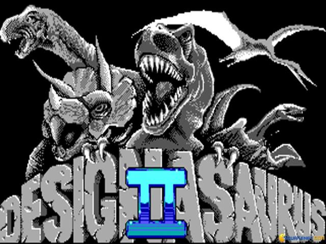 Designasaurus II - game cover