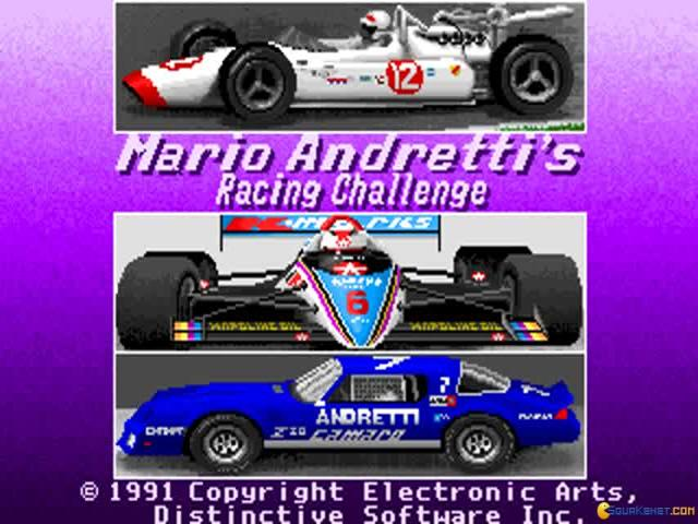Mario Andretti Racing Challenge - title cover