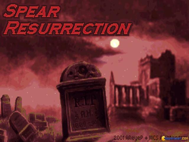 Wolfenstein 3D: Spear Resurrection - title cover