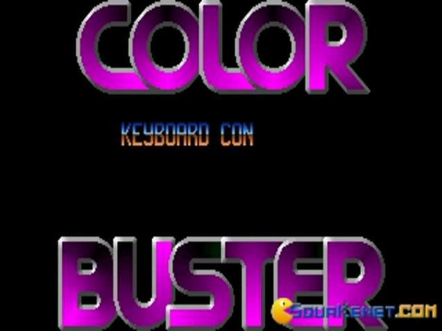Color Buster - title cover
