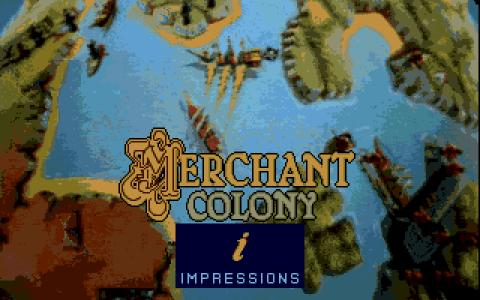 Merchant Colony - title cover
