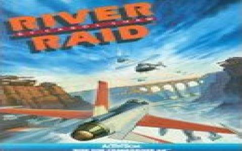 River Raid Remake - title cover