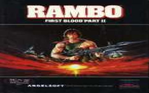 Rambo: First Blood Part II - title cover