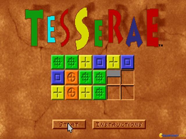 Tesserae - title cover