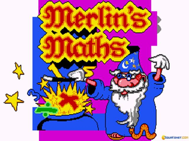 Merlin Math - title cover