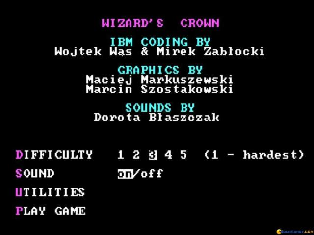 Wizard Crown - game cover