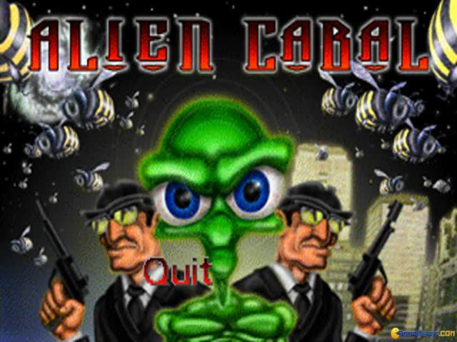 Alien Cabal - title cover