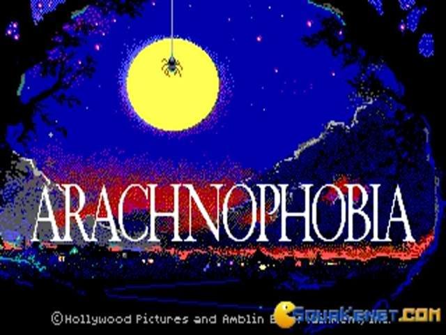 Arachnophobia - title cover