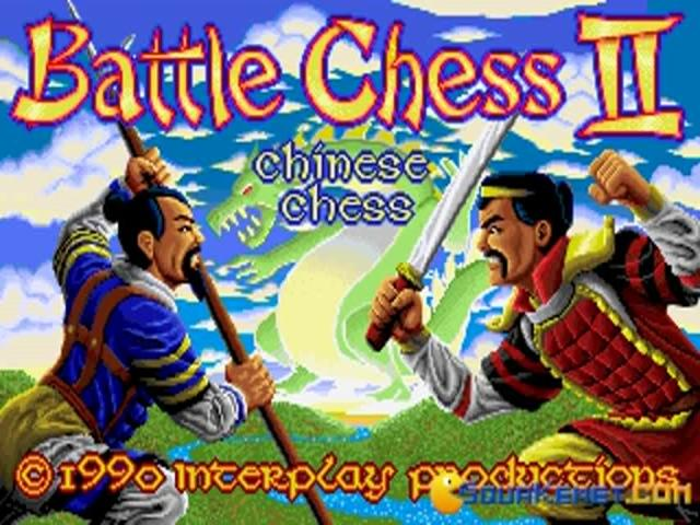 Battle Chess 2 - title cover