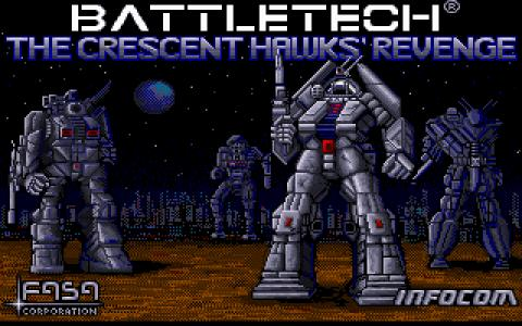 BattleTech: The Crescent Hawks Revenge - title cover