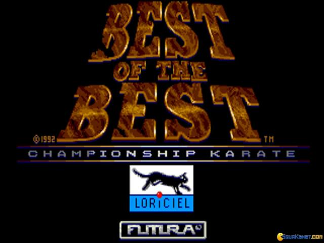 Best of The Best - title cover