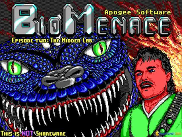 Bio Menace 2 - title cover