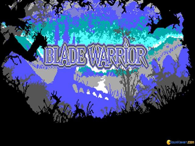 Blade Warrior - title cover