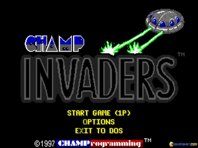 Champ Invaders - title cover