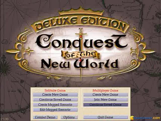 Conquest of The New World - game cover