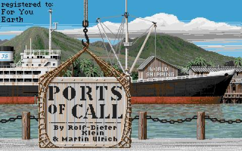 Ports of Call - game cover