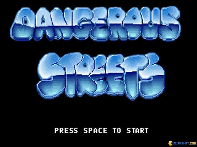 Dangerous Streets - title cover