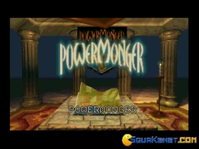 Powermonger - title cover