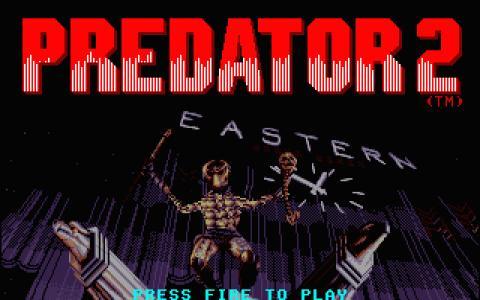 Predator 2 - title cover