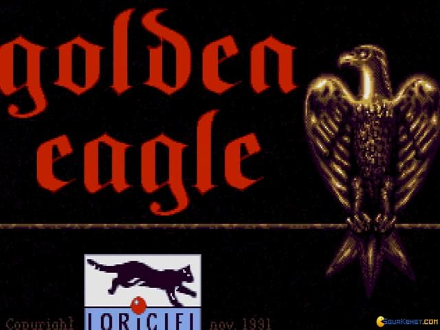 Golden Eagle - title cover