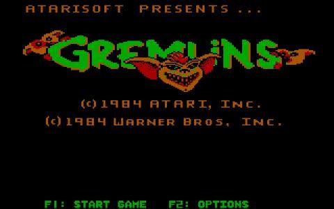 Gremlins - title cover