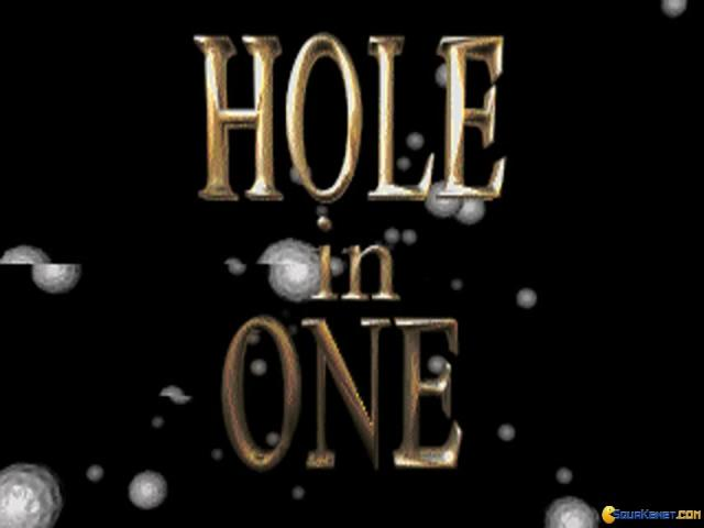 Hole in One - title cover