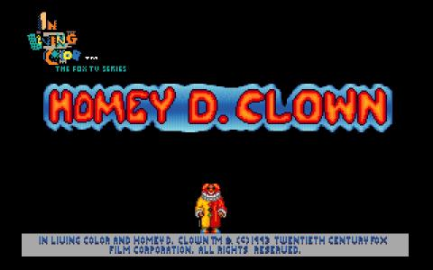 Homey D Clown - title cover