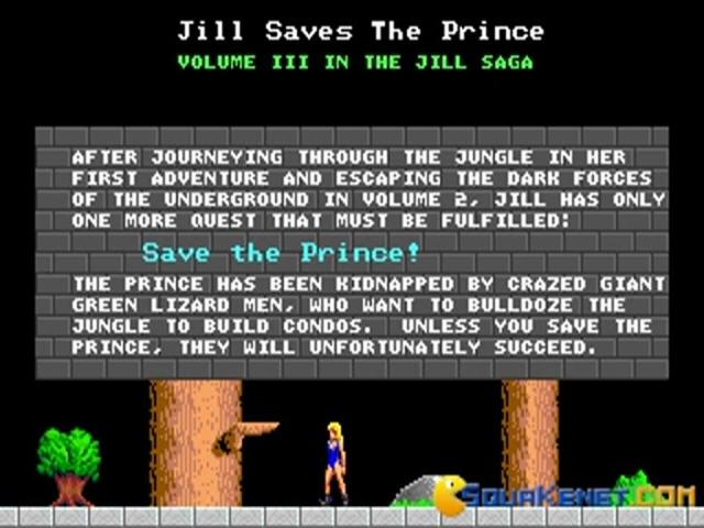 Jill of The Jungle 3 - title cover
