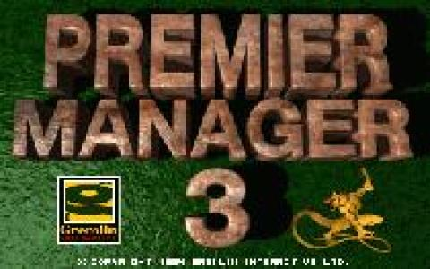 Premier Manager 3 - game cover