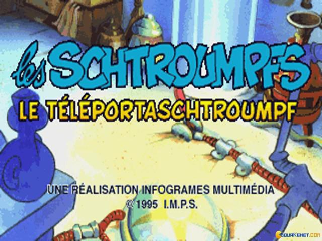 Les Schtroumpfs: le teleportaschtroumpf - title cover