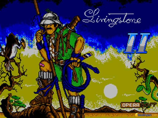 Livingstone 2 - title cover