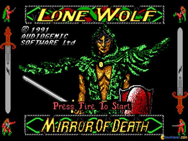 Lone Wolf - title cover