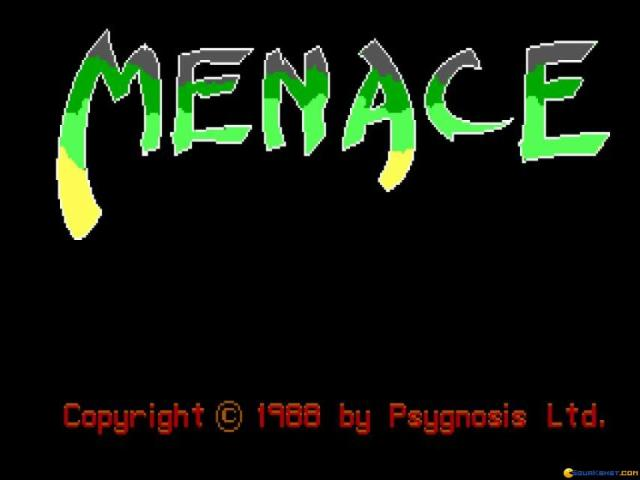 Menace - title cover