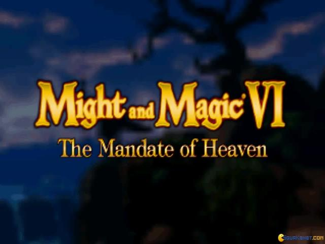 Might and Magic VI: The Mandate of Heaven - title cover