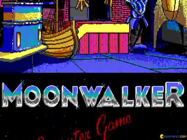 Moonwalker - title cover
