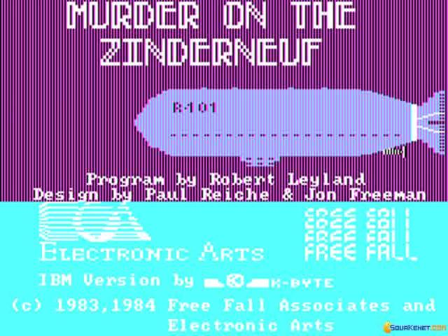 Murder on the Zinderneuf - title cover