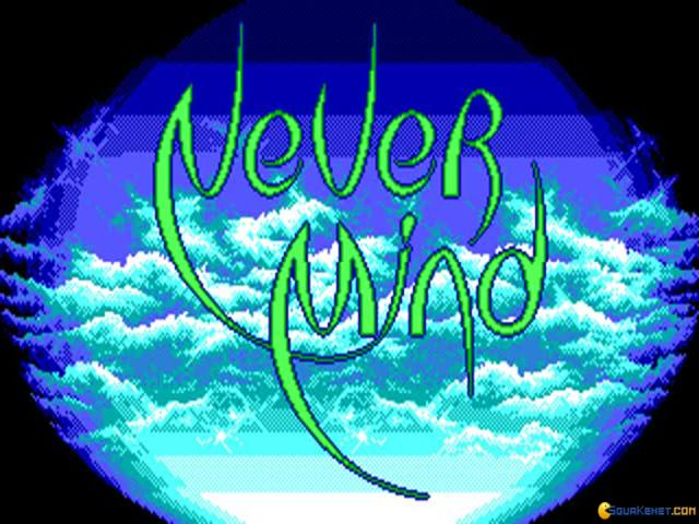 Never Mind - title cover