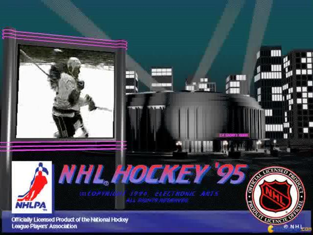 NHL 95 - game cover