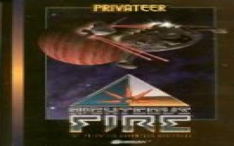Privateer Righteous Fire - title cover