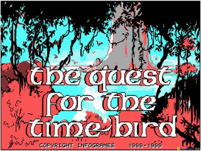 Quest for the Timebird - title cover