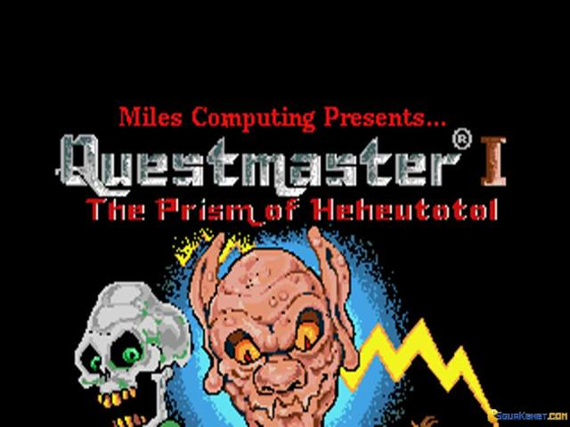 Questmaster I - Prism of Heheutotol - title cover