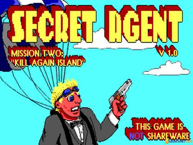 Secret Agent 2 - title cover
