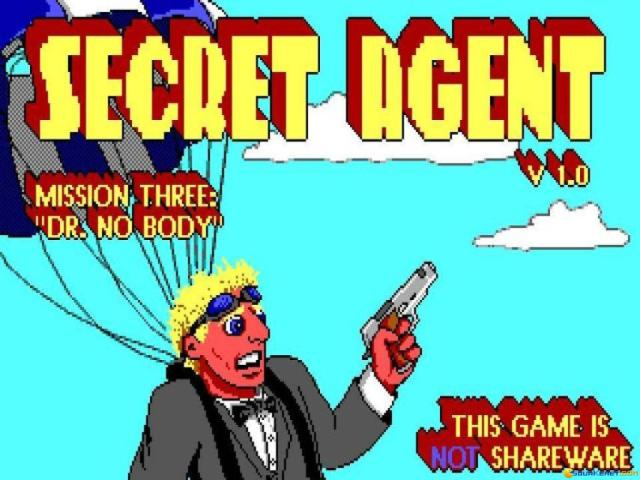 Secret Agent 3 - game cover