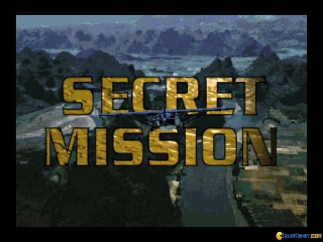 Secret Mission - title cover