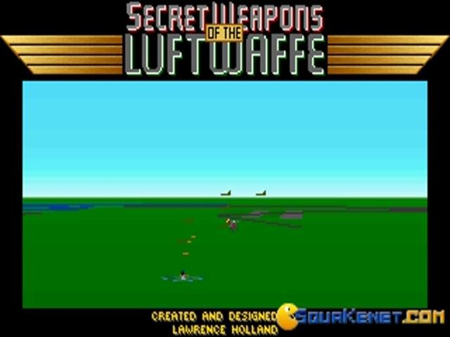 Secret Weapons of The Luftwaffe - game cover