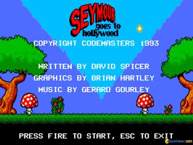 Seymour Goest to Hollywood - game cover