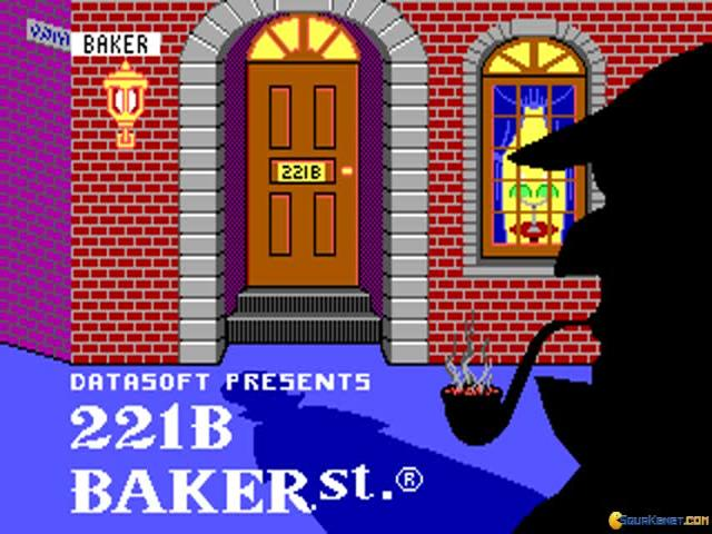 221B Baker Street - game cover