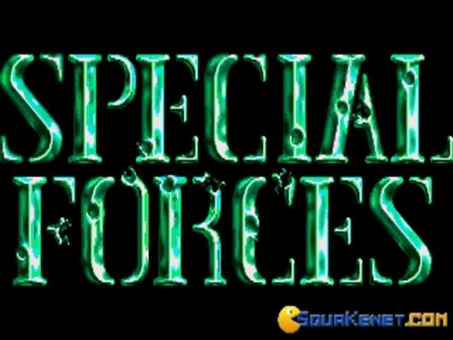 Special Forces - title cover