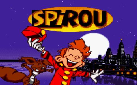 Spirou - title cover