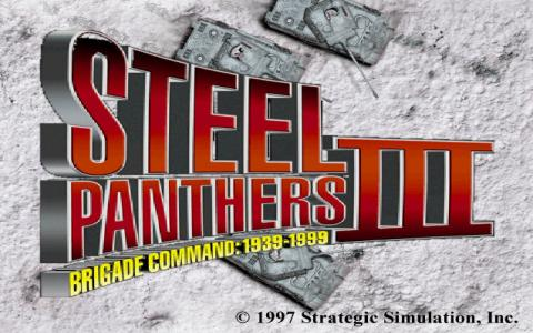 Steel Panthers 3 - title cover